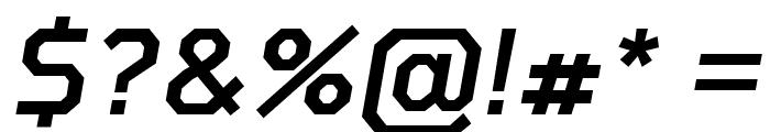 Tomorrow Medium Italic Font OTHER CHARS
