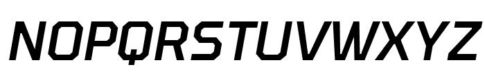Tomorrow Medium Italic Font UPPERCASE