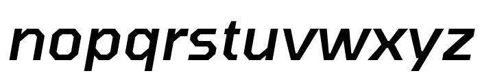 Tomorrow Medium Italic Font LOWERCASE