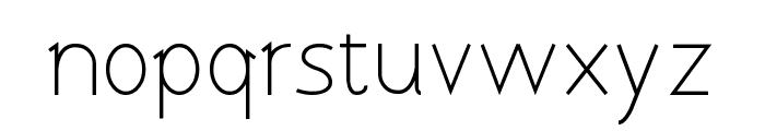 Tomsk Font LOWERCASE
