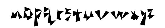 TonGaru Font LOWERCASE
