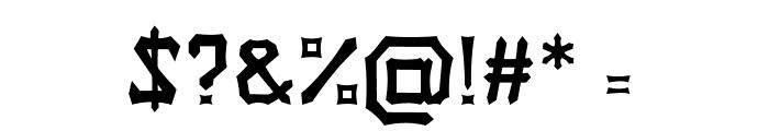 Tongkonan Regular Font OTHER CHARS