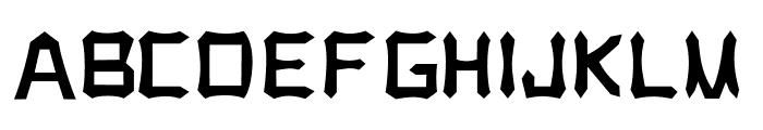 Tongkonan Regular Font UPPERCASE