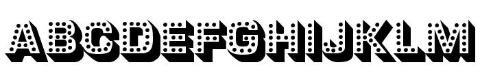 Tonight Font LOWERCASE