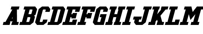 Tonopah Bold Italic Font LOWERCASE