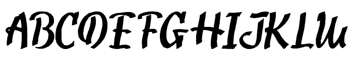 TooGoodToBeTrue Font UPPERCASE