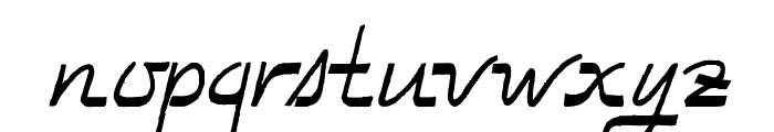 TooGoodToBeTrue Font LOWERCASE