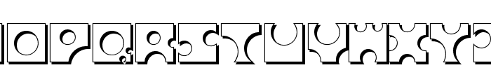 Toolego-Shadow Font UPPERCASE