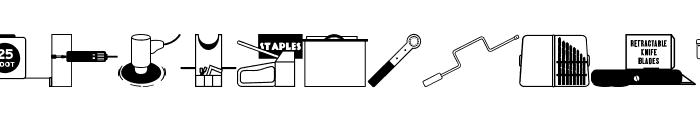 Tools Rule! JL Font UPPERCASE