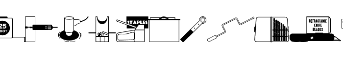 Tools Rule! JL Font LOWERCASE
