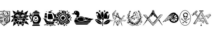 ToolsSymbols Font LOWERCASE