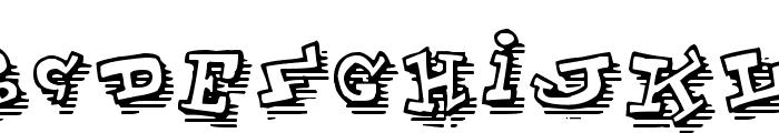 ToonLandShad Font UPPERCASE