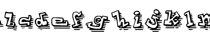 ToonLandShad Font LOWERCASE