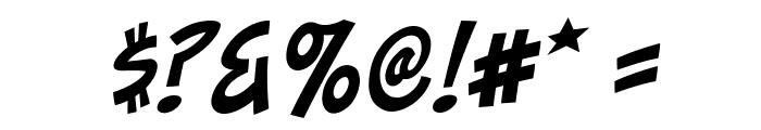 ToonaciousBB-Italic Font OTHER CHARS
