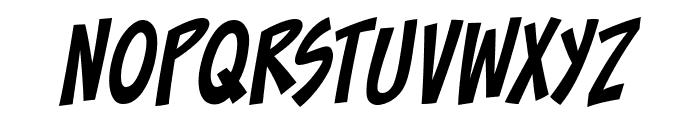ToonaciousBB-Italic Font UPPERCASE