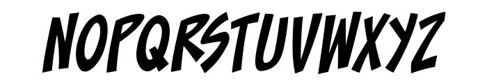 ToonaciousBB-Italic Font LOWERCASE
