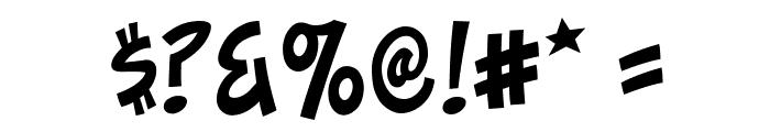 ToonaciousBB Font OTHER CHARS