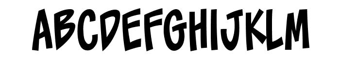 ToonaciousBB Font LOWERCASE