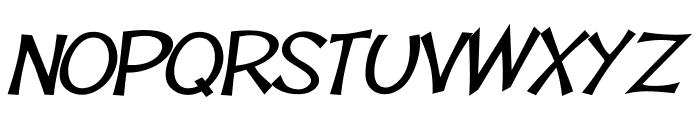 Tooney Loons Bold Italic Font UPPERCASE