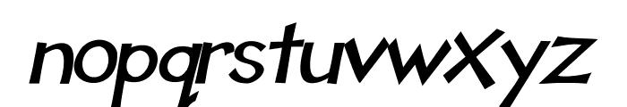 Tooney Loons Bold Italic Font LOWERCASE