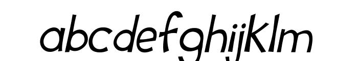 Tooney Loons Italic Font LOWERCASE
