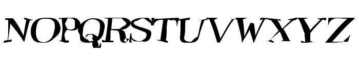 TooneyLunes Bold Font UPPERCASE