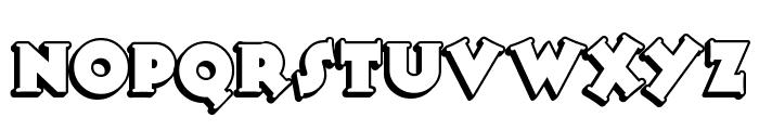 TooneyNoodle Font UPPERCASE