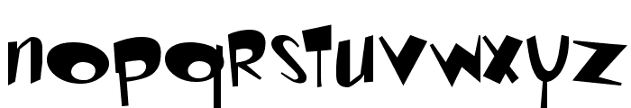 Toontime Regular Font LOWERCASE
