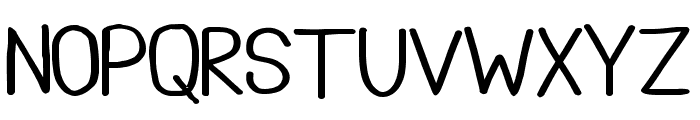 Tootle Play regular Font LOWERCASE