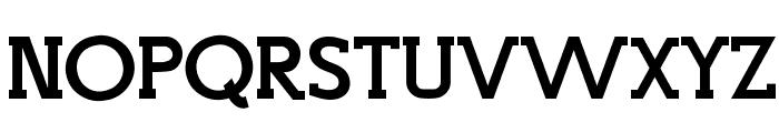 Top Modern Font UPPERCASE