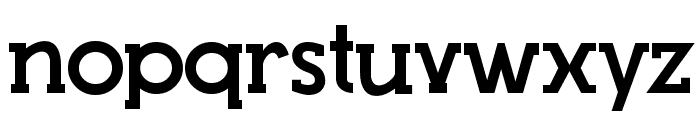 Top Modern Font LOWERCASE