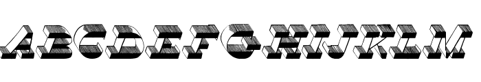 Top View Font UPPERCASE