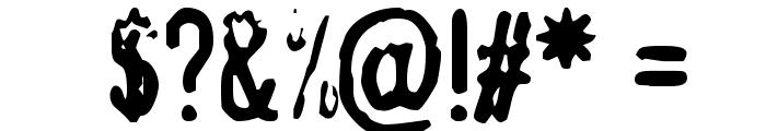 TopSecret Font OTHER CHARS