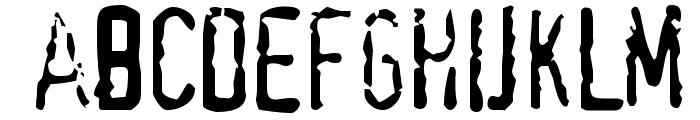 TopSecret Font LOWERCASE