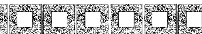 Topiary_Initials Font OTHER CHARS