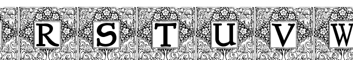 Topiary_Initials Font UPPERCASE