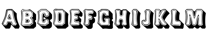 Topsquare Font UPPERCASE