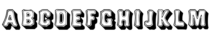 Topsquare Font LOWERCASE
