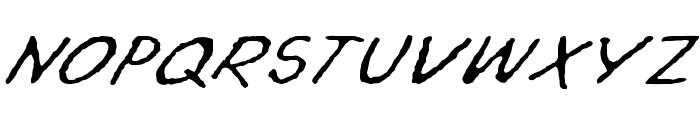 Topuz Font UPPERCASE