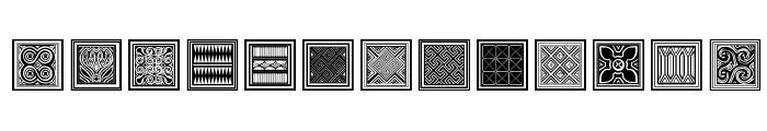 Torajamatra Font UPPERCASE