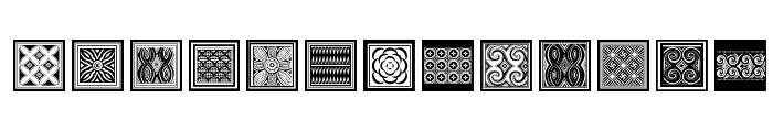 Torajamatra Font LOWERCASE