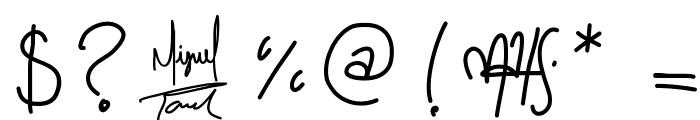 ToralfontClassic Font OTHER CHARS