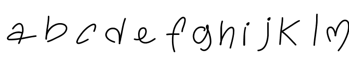 ToralfontClassic Font LOWERCASE