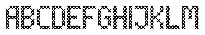 Torito Style Font UPPERCASE