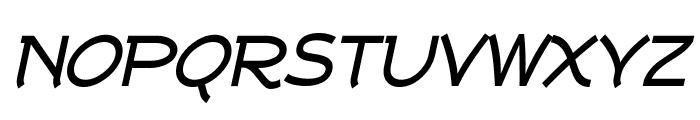 Tork Bold Italic Font UPPERCASE