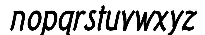 Tork Bold Italic Font LOWERCASE