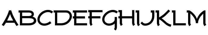 Tork-Bold Font UPPERCASE