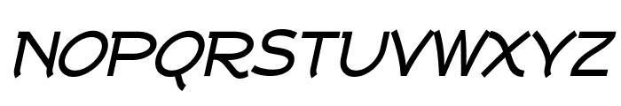Tork-BoldItalic Font UPPERCASE