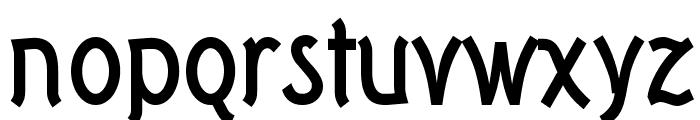 Tork-Bold Font LOWERCASE