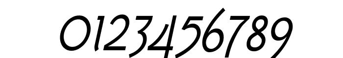 Tork-Italic Font OTHER CHARS